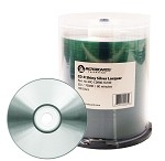 Microboards Brand CD-R Media - Shiny Silver Lacquer - Case of 600 (B-Stock)