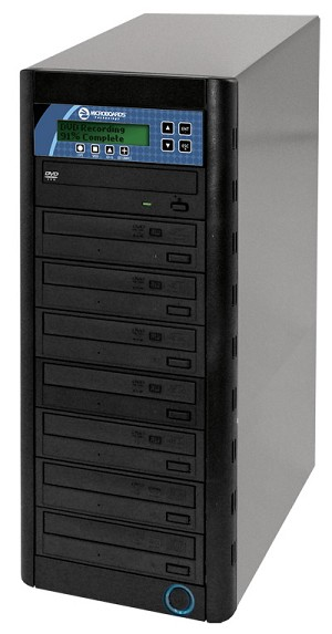 CopyWriter DVD Duplicator, 7-Bay