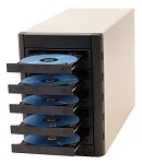 Microboards Multi-Writer DVD Tower, 5-Bay