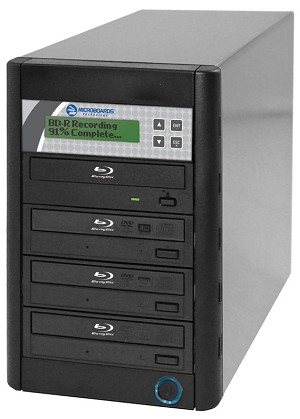 Microboards Quic Disc Blu-Ray Tower Duplicator, 4-Bay